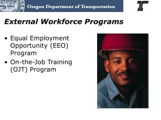 External Workforce Programs