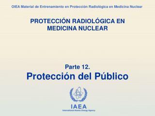 Parte 12. Protección del Público