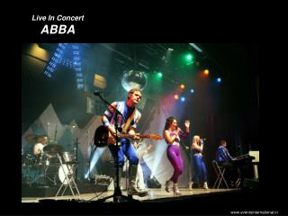 Live In Concert   ABBA