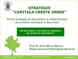STRATEGIE  �CAPITALA CRESTE VERDE�
