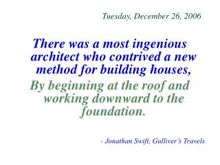 Tuesday, December 26, 2006