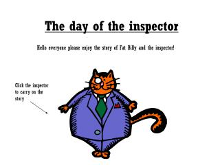 The day of the inspector