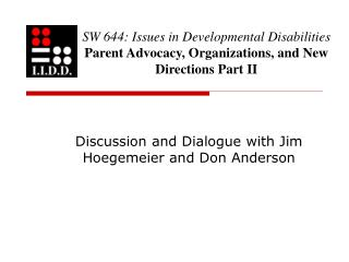Discussion and Dialogue with Jim Hoegemeier and Don Anderson
