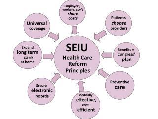 SEIU Health Care  Reform  Principles