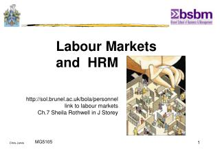 Labour Markets  and  HRM