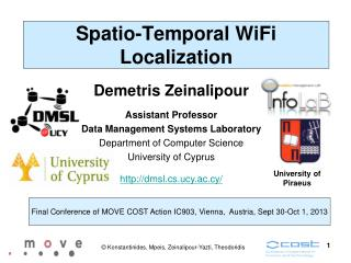 Spatio-Temporal WiFi Localization