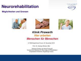 Neurorehabilitation  M glichkeiten und Grenzen