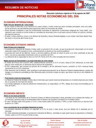 Acceso Bursátil Dpto. de Análisis. Prolongación Abasolo 54-27 Col Fuentes de Tepepan CP. 14648