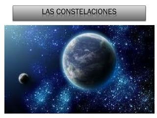 Las constelaciones