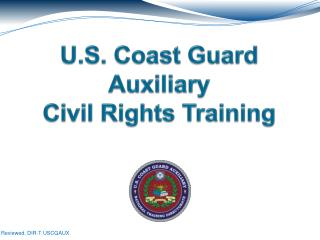 U.S. Coast Guard Auxiliary Civil Rights Training