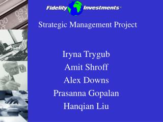 Strategic Management Project