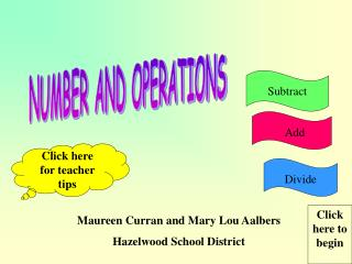 Maureen Curran and Mary Lou Aalbers Hazelwood School District