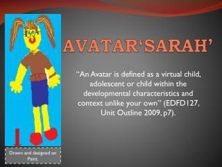 AVATAR'SARAH'