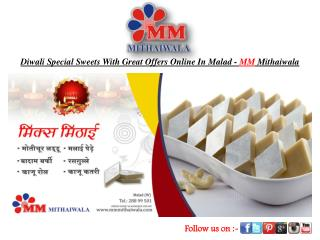 Diwali Sweet With Offers Online In Malad-MM Mithaiwala