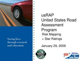 usRAP  United States Road Assessment Program