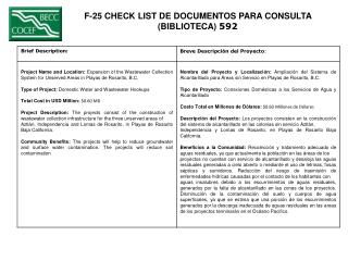 F-25 CHECK LIST DE DOCUMENTOS PARA CONSULTA  (BIBLIOTECA)  592