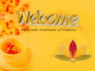 Ayurvedic treatment of diabetes