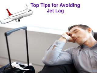 Best Tips for Avoiding Jet Lag
