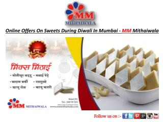 Online Offers On Sweet During Diwali In Mumbai-MM Mithaiwala