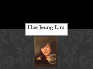 Hae Jeung  Lim