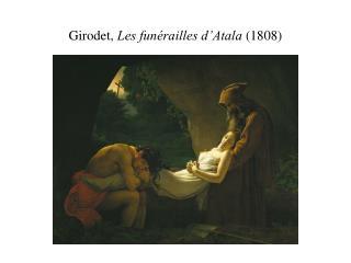 Girodet,  Les fun�railles d�Atala  (1808)