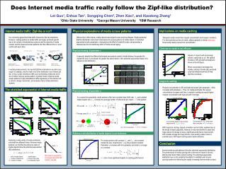 Does Internet media traffic really follow the Zipf-like distribution?