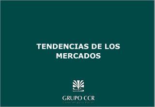 TENDENCIAS DE LOS MERCADOS