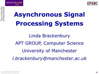 Asynchronous Signal Processing Systems