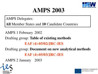 AMPS 2003