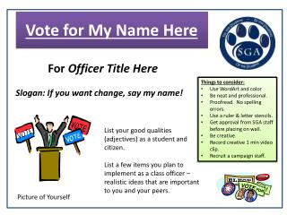Vote for My Name Here
