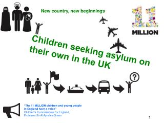 Children seeking asylum on their own in the UK