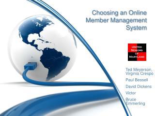 Choosing an Online Member Management System