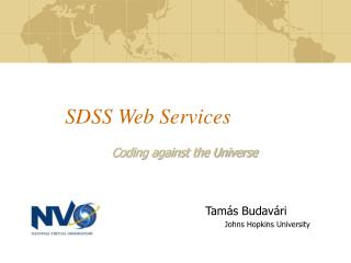 SDSS Web Services