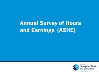 Annual Survey of Hours and Earnings