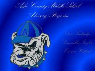 Ashe County Middle School Advisory Program