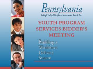 YOUTH PROGRAM SERVICES BIDDER'S MEETING