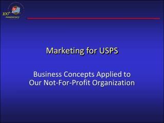 Marketing for USPS
