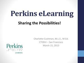 Perkins eLearning