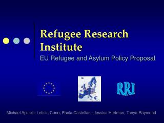 Refugee Research Institute
