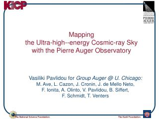 Mapping  the Ultra-high--energy Cosmic-ray Sky  with the Pierre Auger Observatory