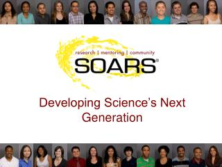 Developing Science's Next Generation