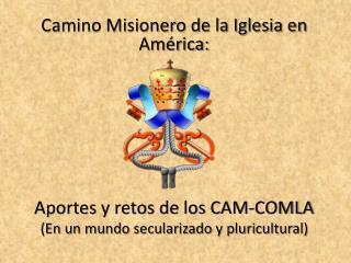 Camino Misionero de la Iglesia en América: Aportes y retos de los CAM-COMLA