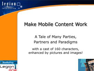Make Mobile Content Work