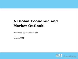 A Global Economic and Market Outlook