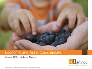 Economic and Asset Class update