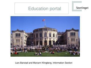 Education portal