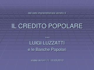 LUIGI LUZZATTI (1841-1927) un economista-pedagogo al servizio della imprenditorialit� minore.