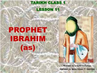 TARIKH CLASS 1 LE SSON 11