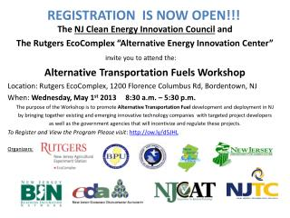 The  NJ Clean Energy Innovation Council  and