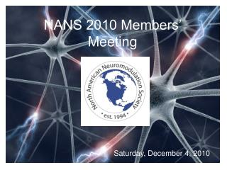 NANS 2010 Members� Meeting